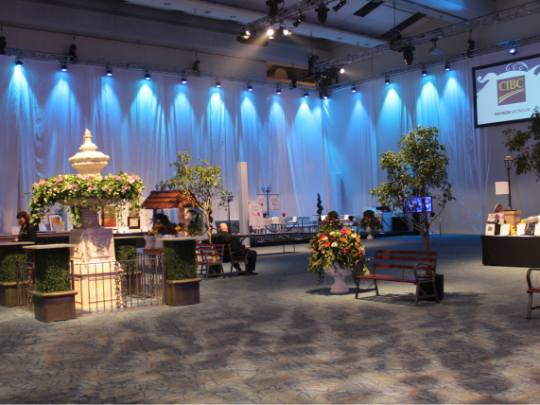 Corporate Events, Audio Visual Equipment Rentals - Ashen White