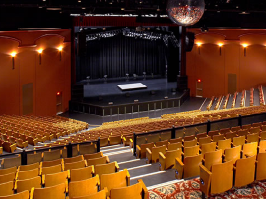 Theatre Venue Equipment, Event Production Rentals - Ashen White