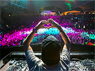 Electronic Music Events, Audio, DJ Equipment Rentals - Ashen White
