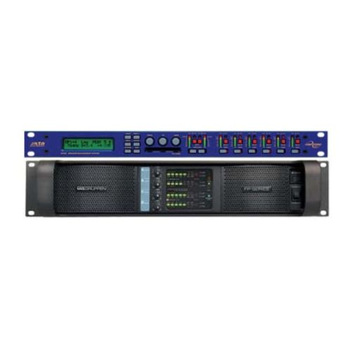1x Lab Gruppen Fp 10 000q Power Amplifier Rack With