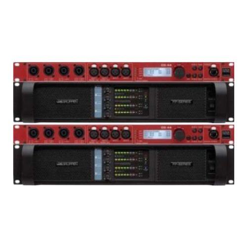 2x Lab Gruppen Fp 10 000q Power Amplifier Rack With Kling